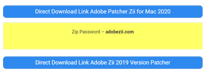 Adobe Zii Download Link