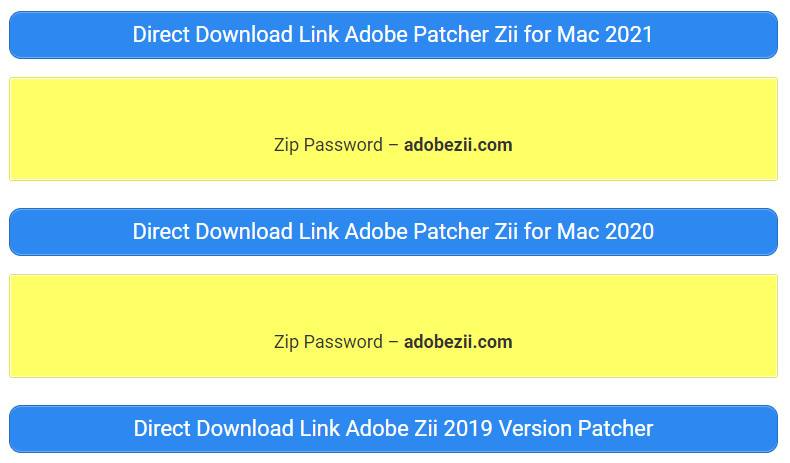 Adobe Zii Download-Link 2021